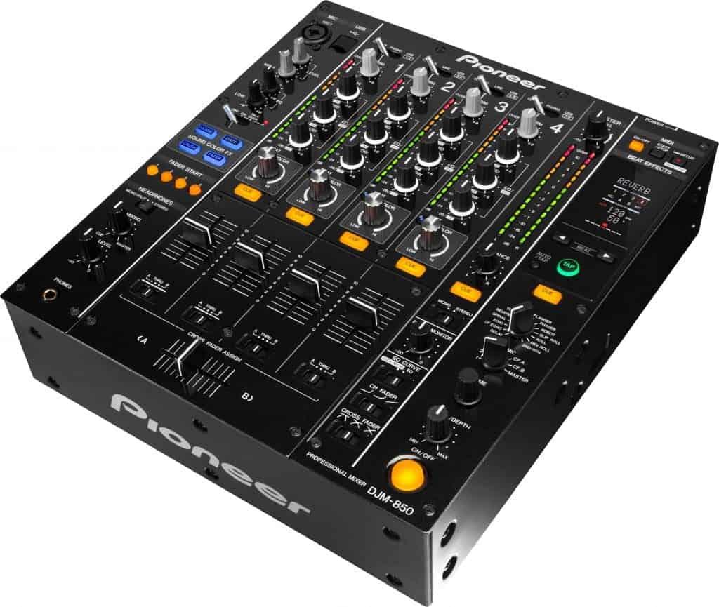 Pioneer DJM-850-K 4-Channel Mixer